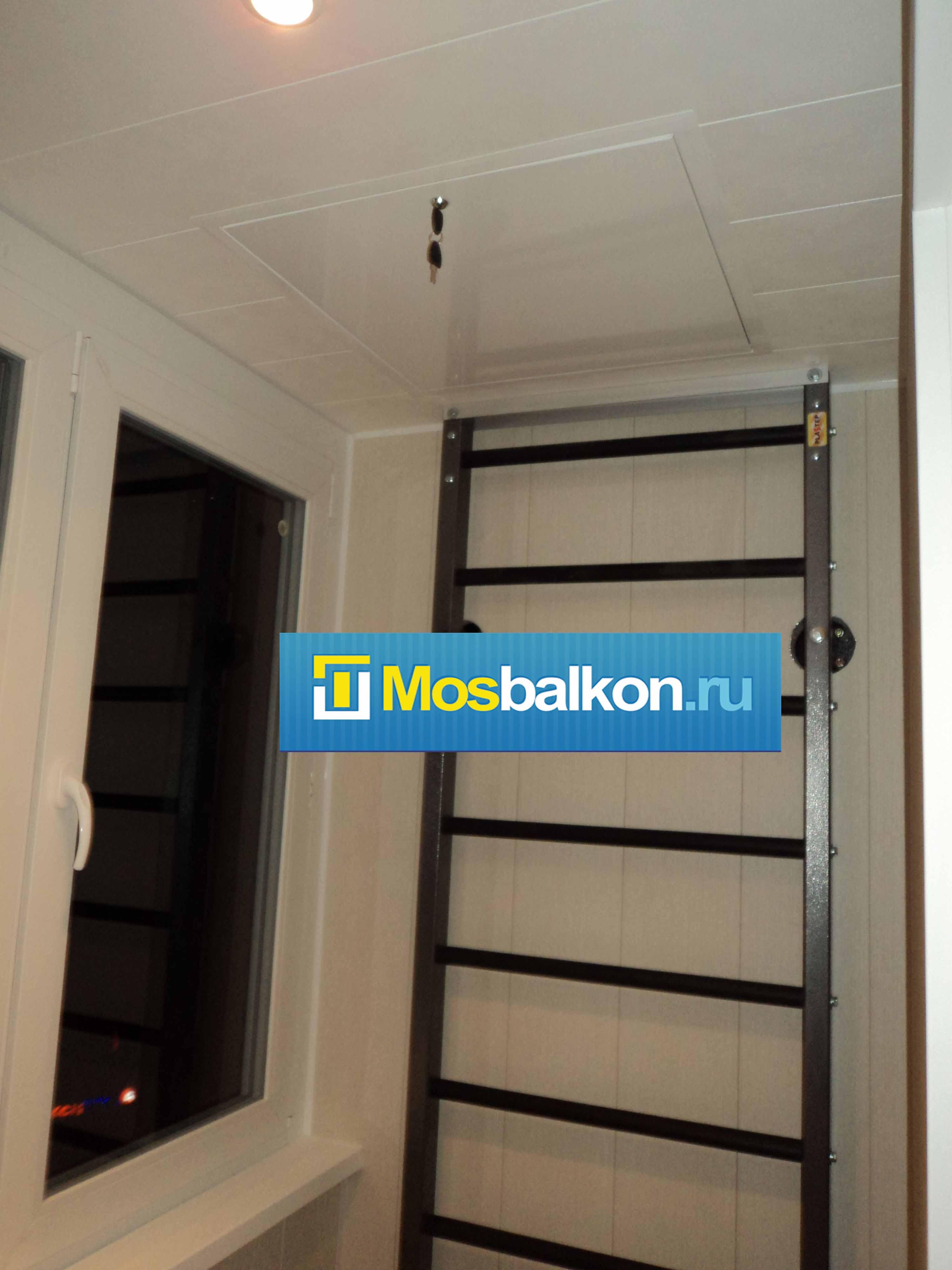 Пожарные люки и перегородки на балконе мосбалкон.ру.