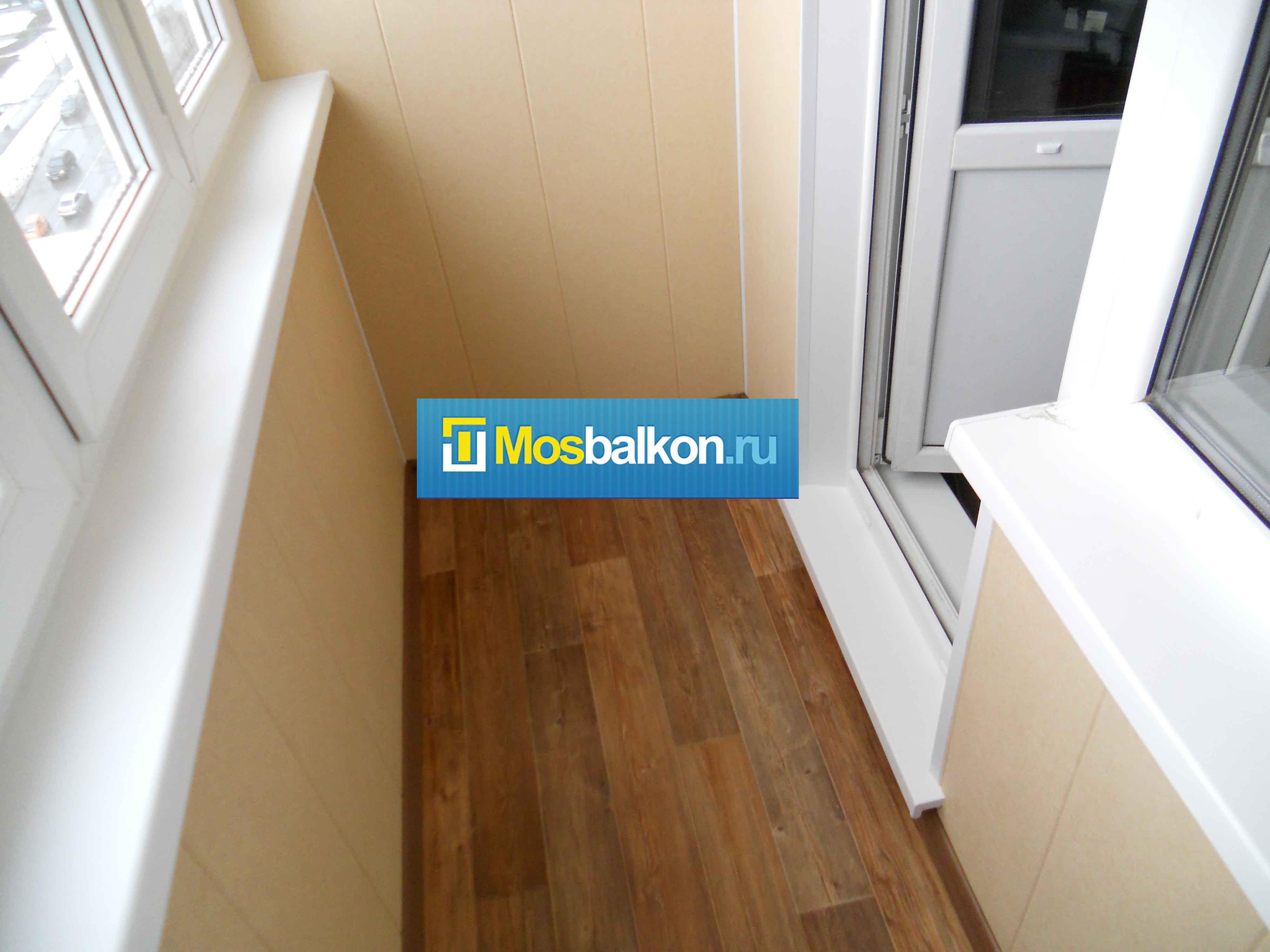 Откосы на балкон - цены на остекление балконов и лоджий плас.