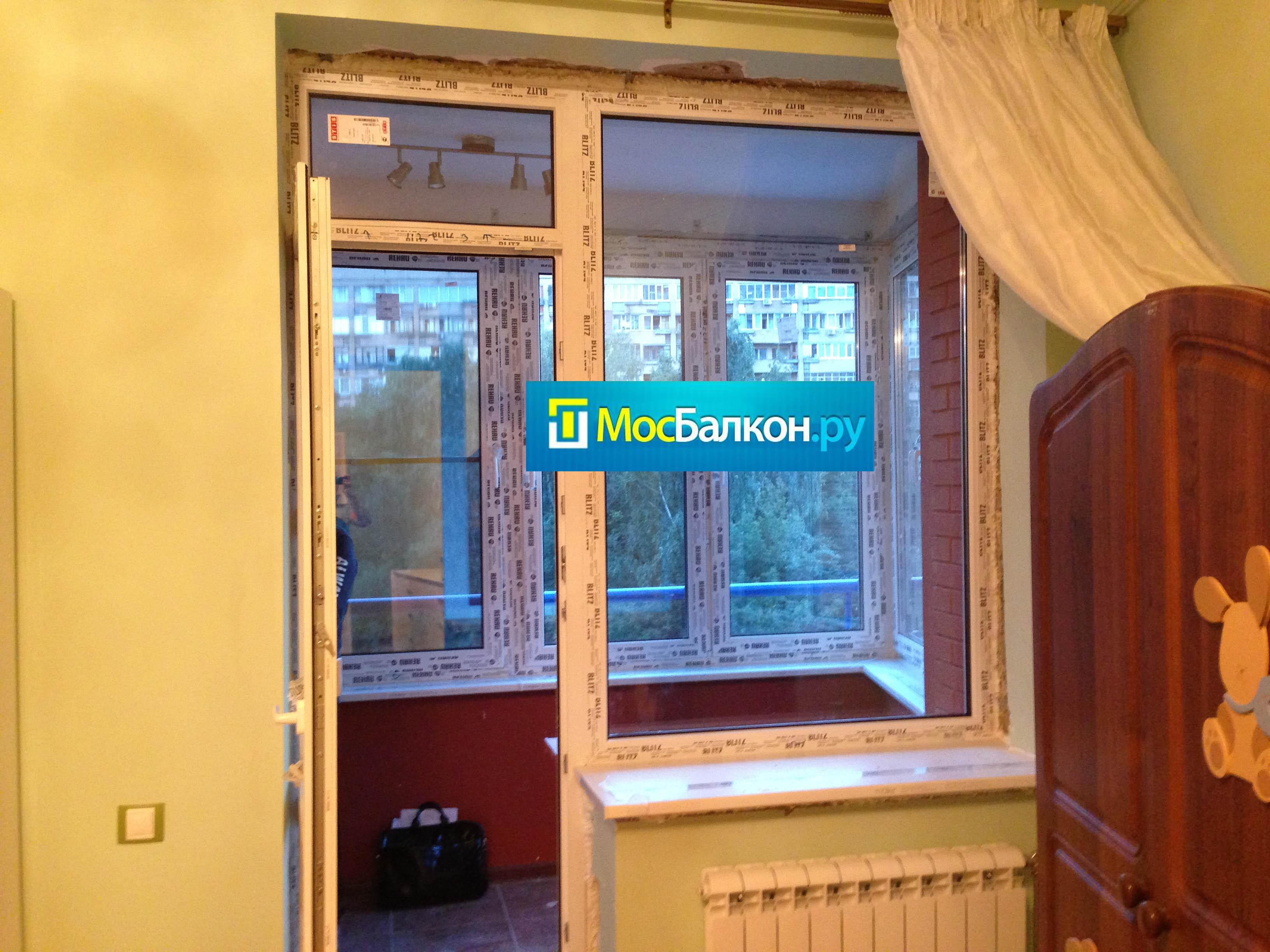Пластиковые окна, остекление и отделка балконов в балашихе м.