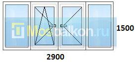 Цены на остекление балконов в домах серии ii-57 мосбалкон.ру.