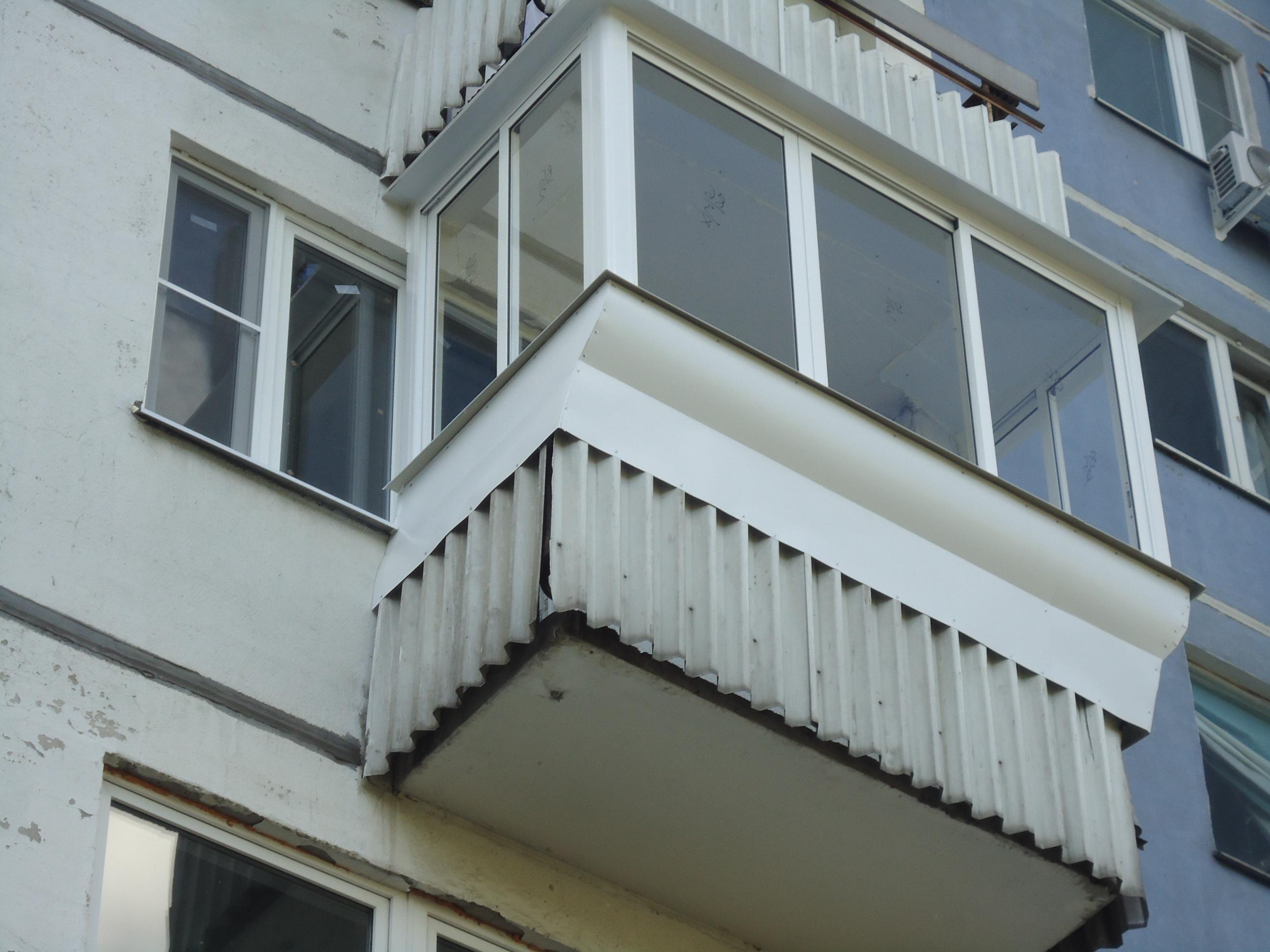 Все просто - балкон с выносом своими руками stroim-gramotno..