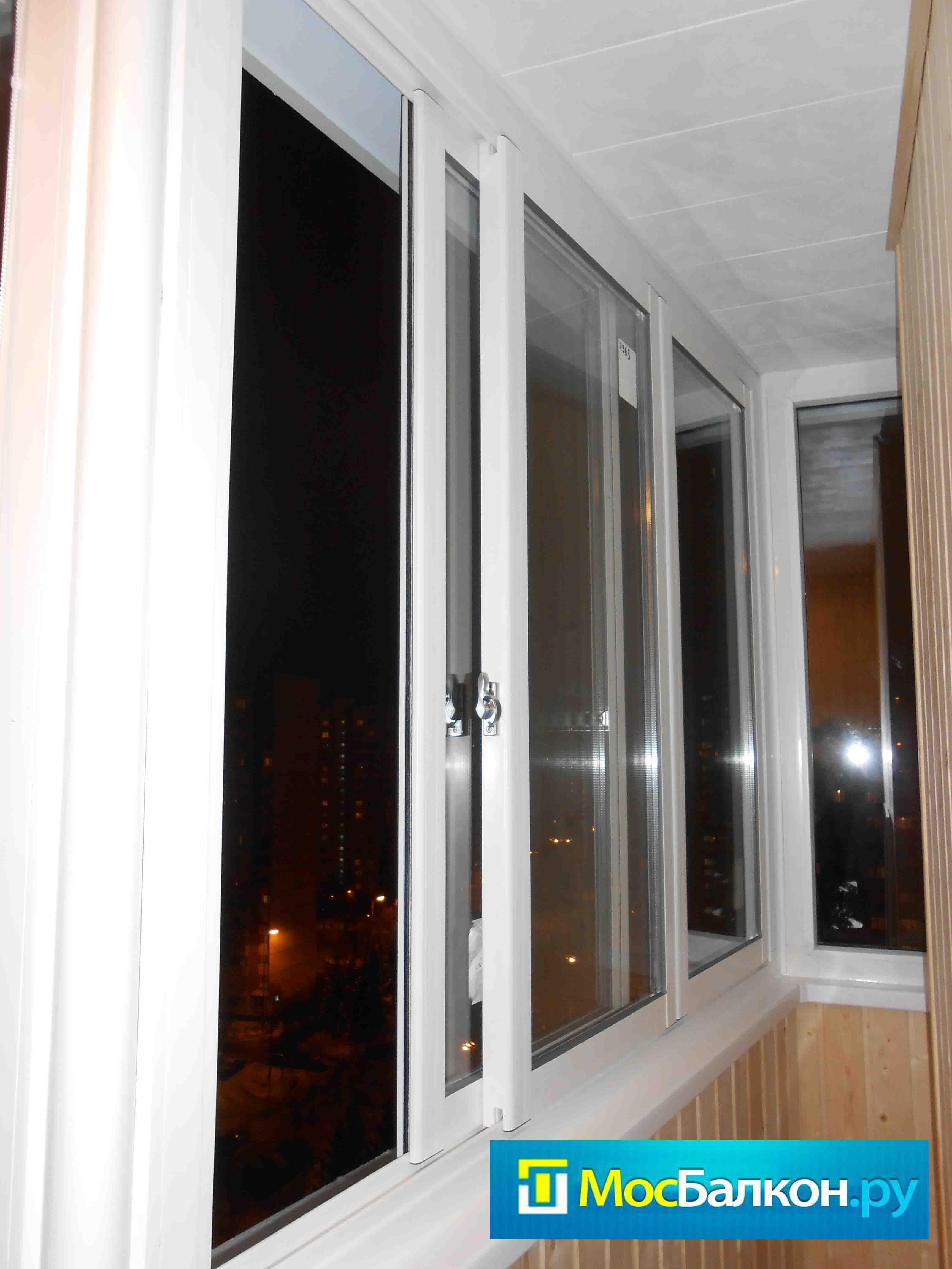 Остекление раздвижными окнами slidors (пвх).