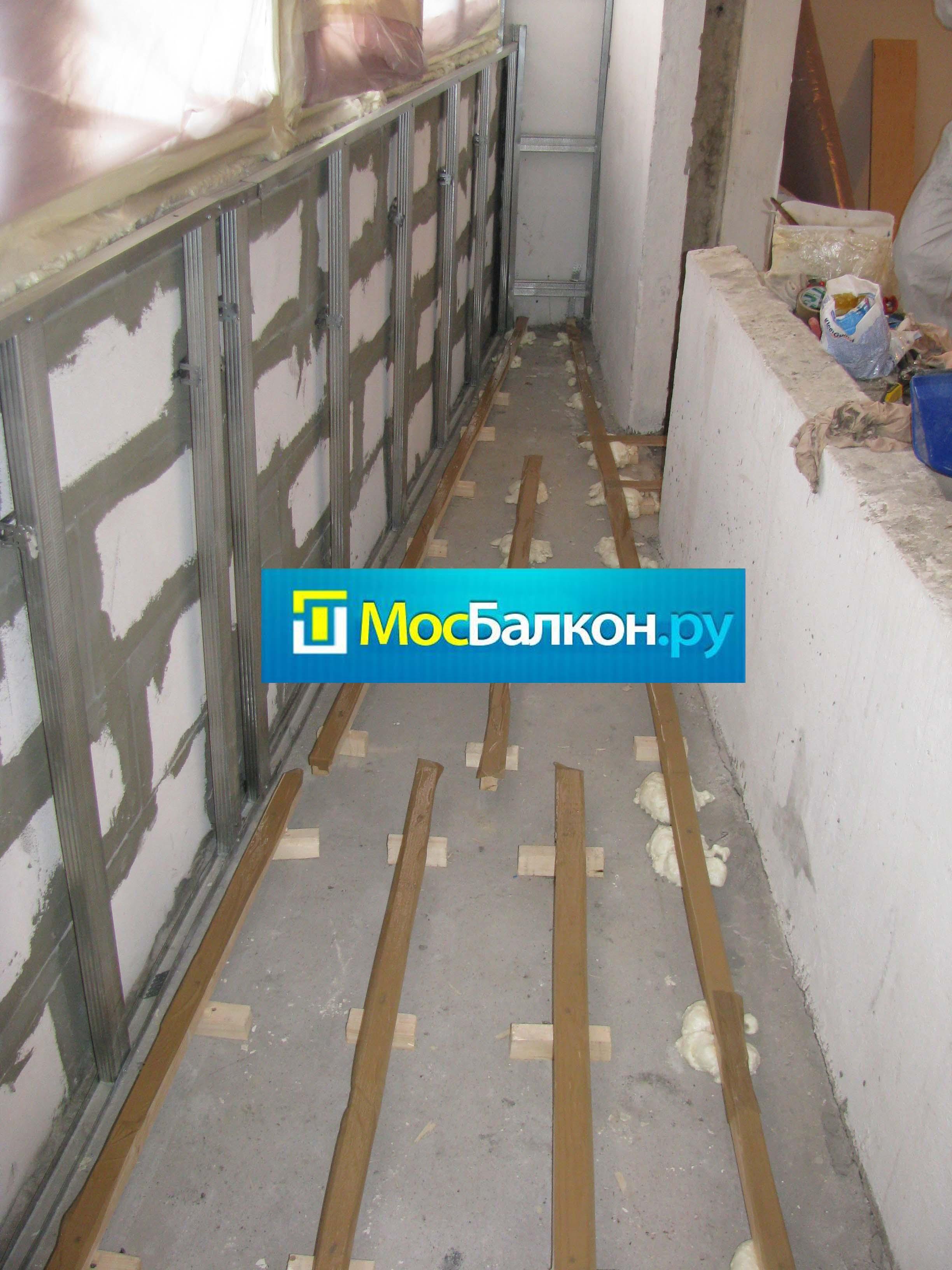 Присоединение балкона к жилой комнате: утепление и остекление