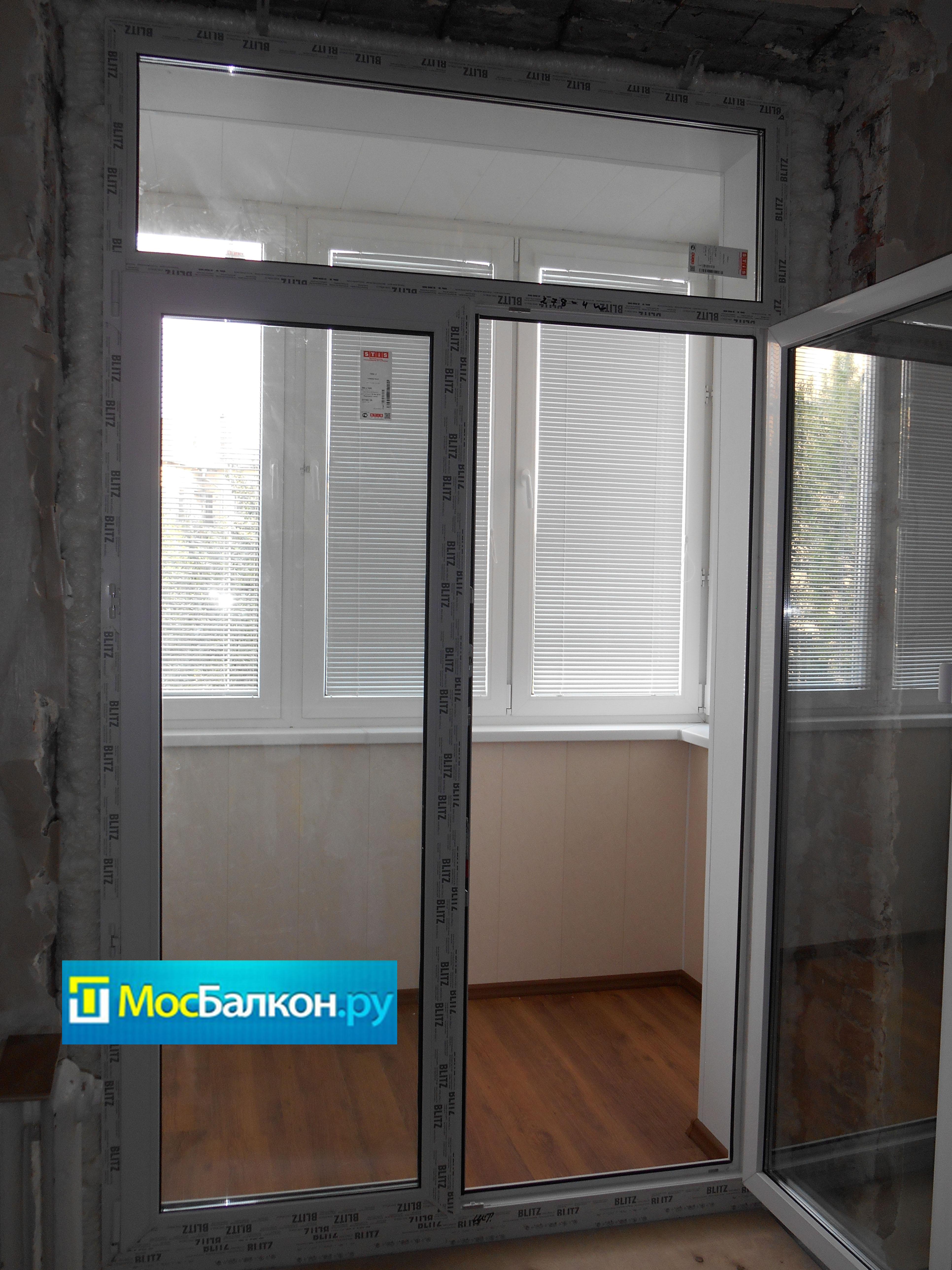 Дверь на балкон rehau (рехау) мосбалкон.ру.