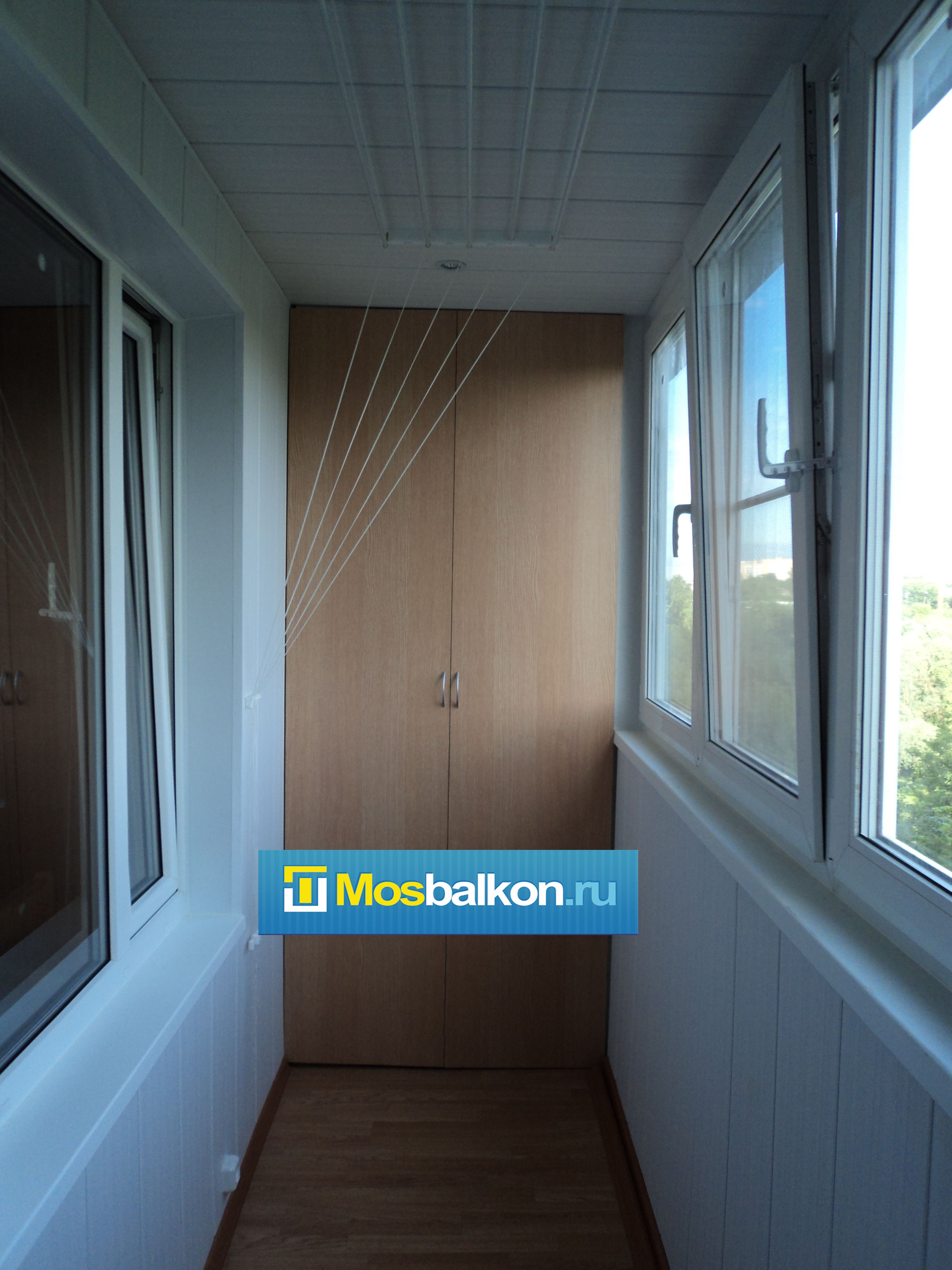 Изготовление встроенной мебели для балконов.