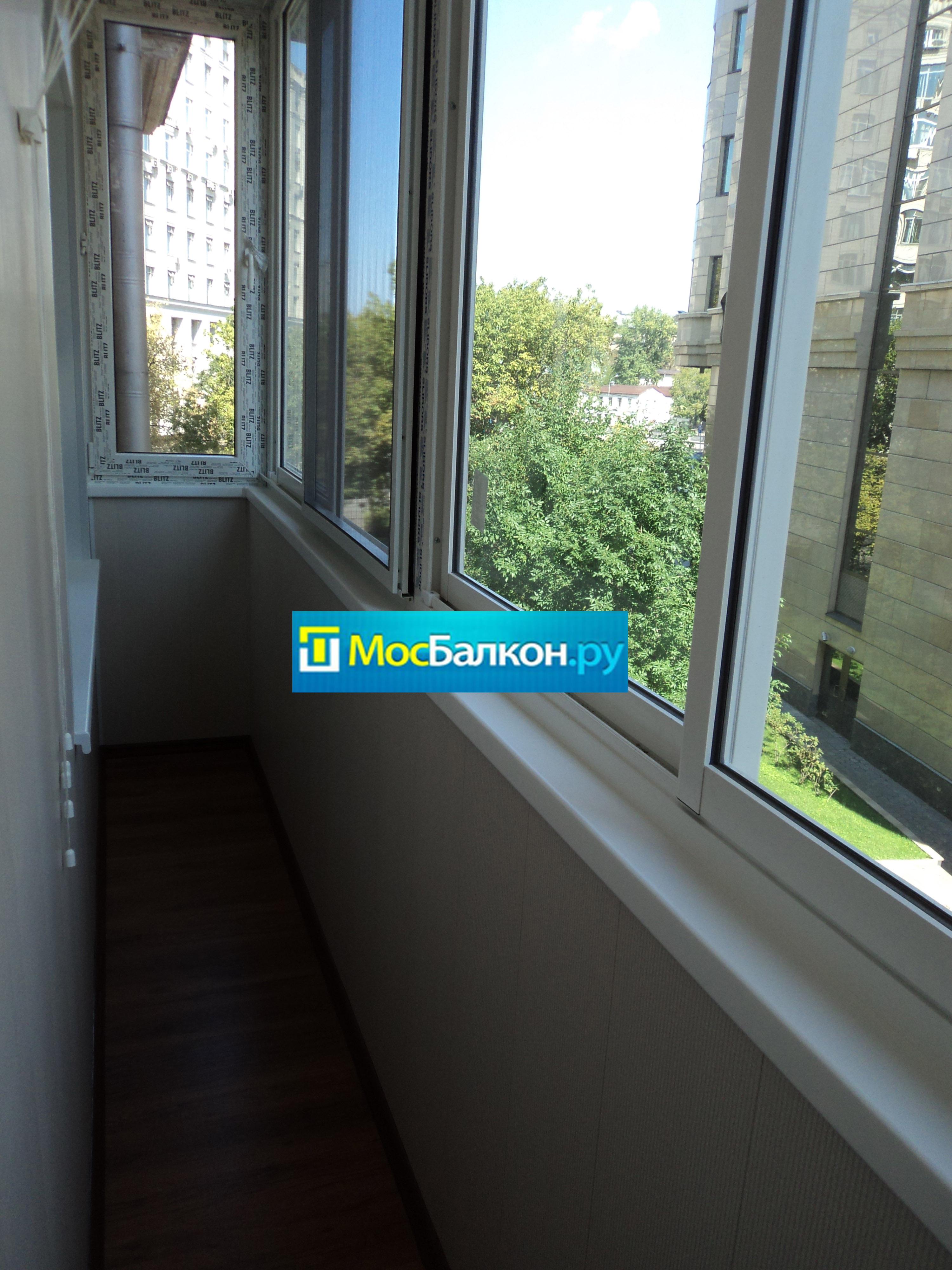 Остекление балконов и лоджий в видном мосбалкон.ру.