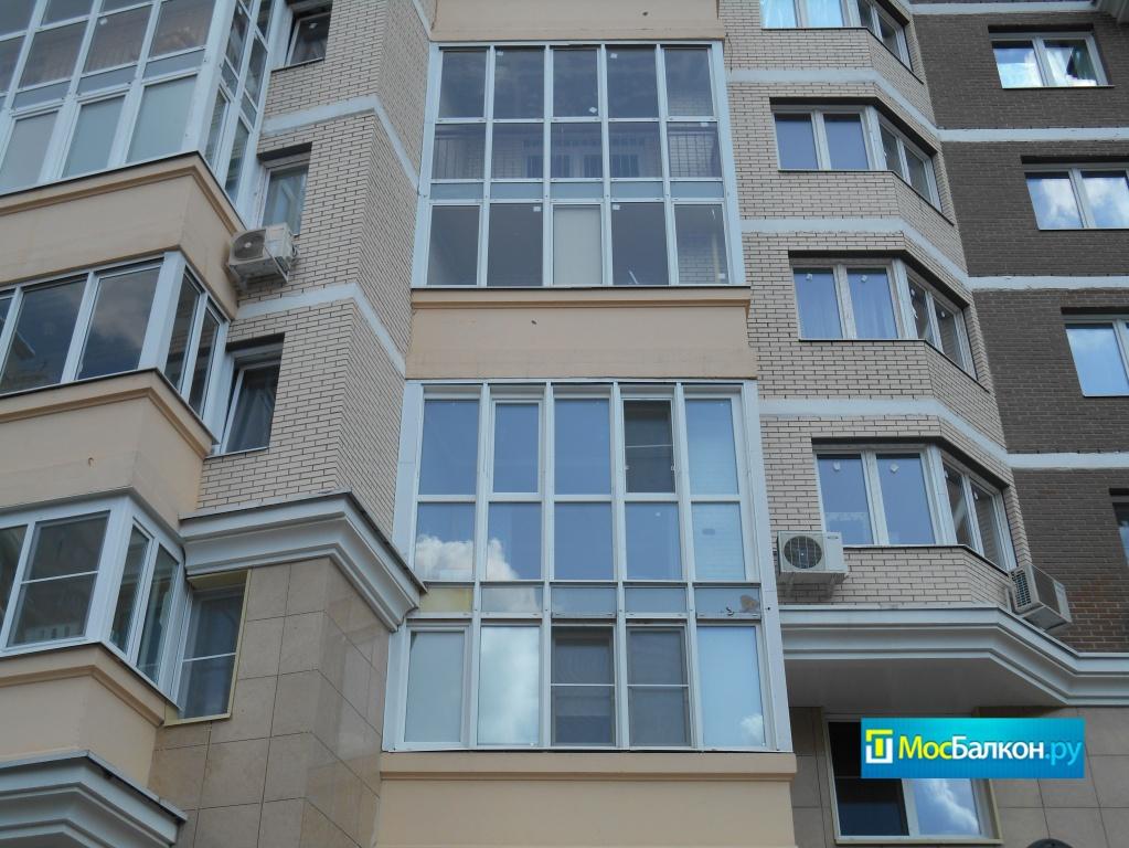 Отделка и остекление балконов в московском мосбалкон.ру.