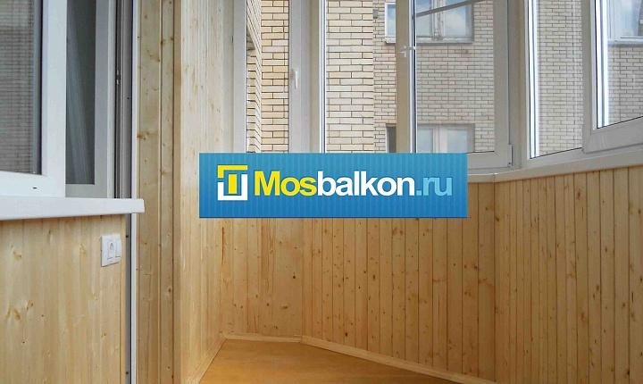 Отделка балконов, отделка лоджий в москве и московской облас.